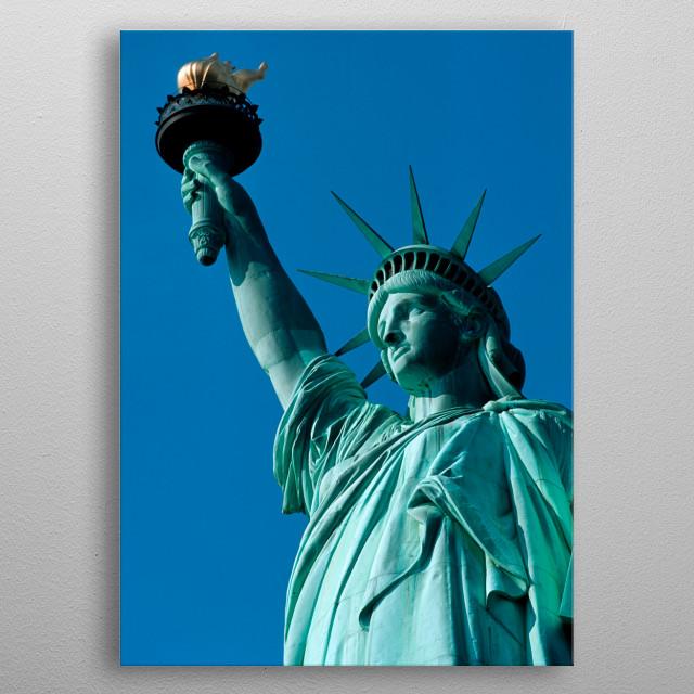 New York 6 metal poster
