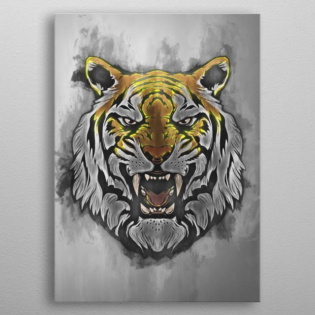 Tiger 6 metal poster