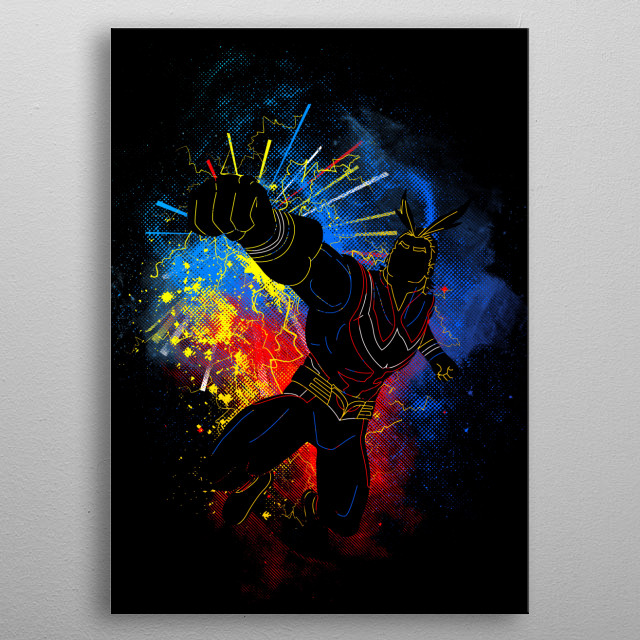 Fascinating metal poster designed by Donnie. Displate has a unique signature and hologram on the back to add authenticity to each design. metal poster