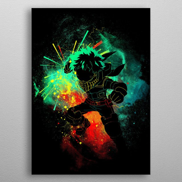 New One for All Art metal poster