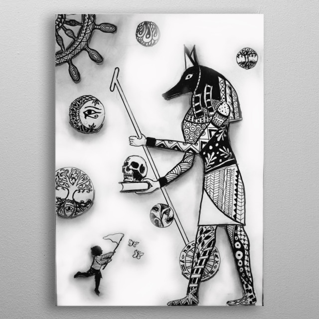 This marvelous metal poster designed by Angelo_TheMadHatter to add authenticity to your place. Display your passion to the whole world. metal poster