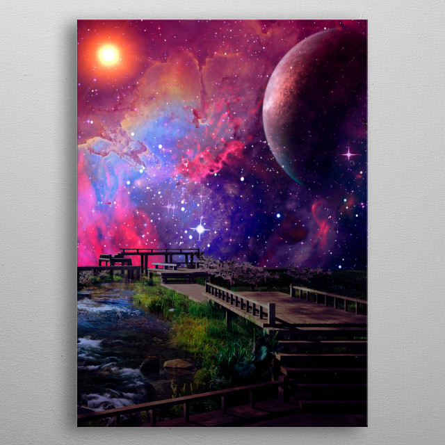 This marvelous metal poster designed by crapter to add authenticity to your place. Display your passion to the whole world. metal poster