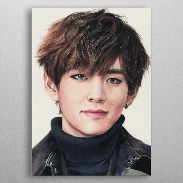 High-quality metal print from amazing Kpop collection will bring unique style to your space and will show off your personality. metal poster