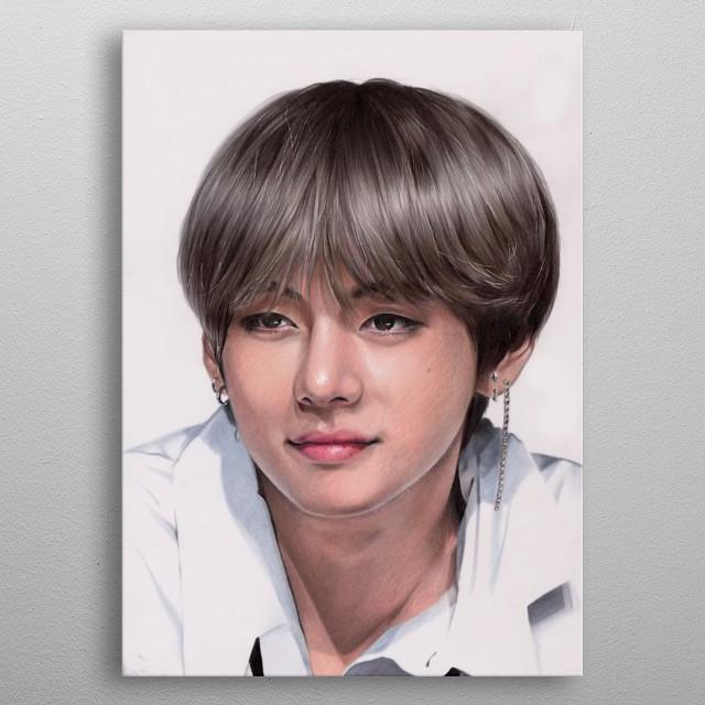 Kim Taehyung, BTS metal poster