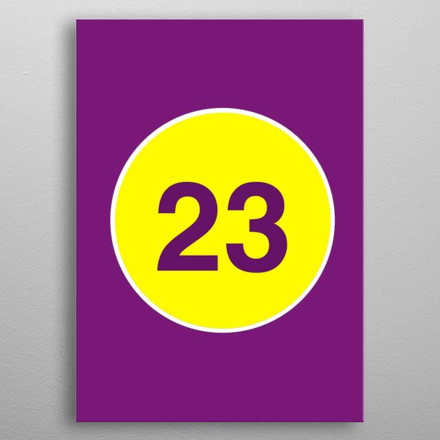 23 metal poster