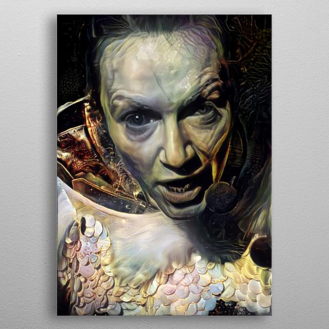 Dracula Herself metal poster