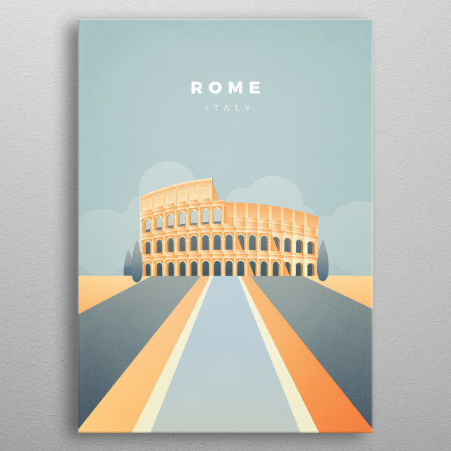 High-quality metal print from amazing Tourist Attractions collection will bring unique style to your space and will show off your personality. metal poster