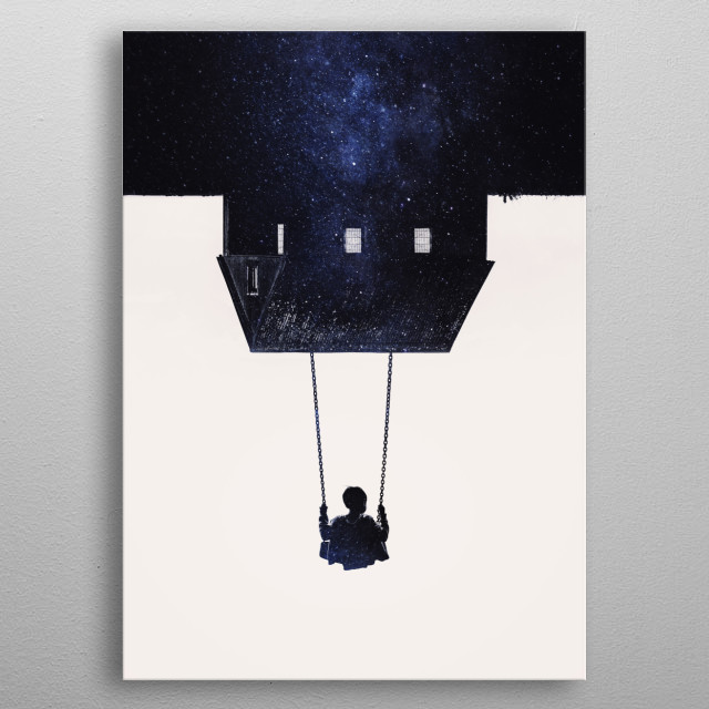 Far from Home metal poster