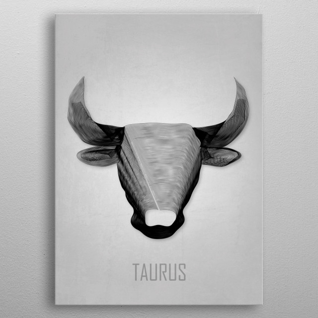 High-quality metal print from amazing Astrological Signs collection will bring unique style to your space and will show off your personality. metal poster
