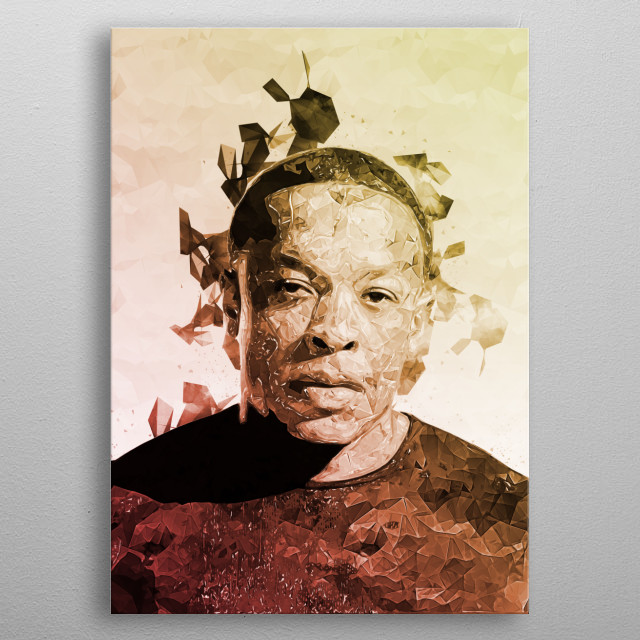 High-quality metal print from amazing Famous People collection will bring unique style to your space and will show off your personality. metal poster