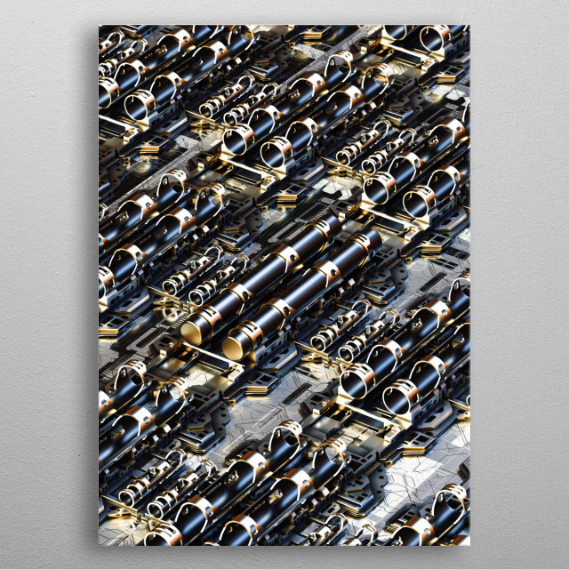 This marvelous metal poster designed by tfmstyle to add authenticity to your place. Display your passion to the whole world. metal poster