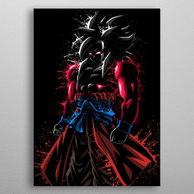 transformation metal poster