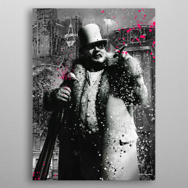 Penguin metal poster