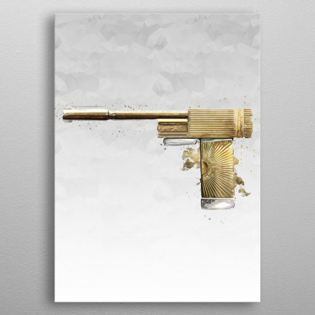 This marvelous metal poster designed by Pantyshot to add authenticity to your place. Display your passion to the whole world. metal poster