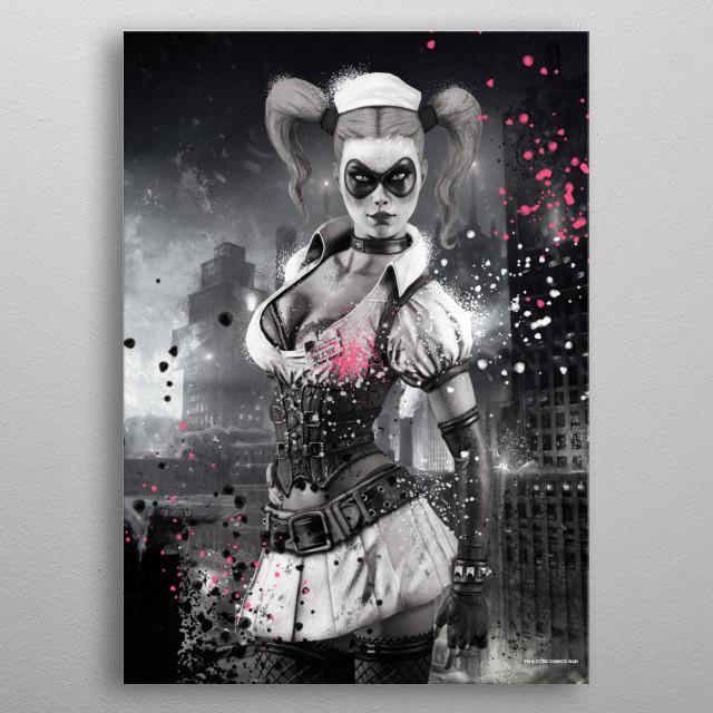Harley metal poster