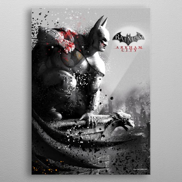 Batman metal poster