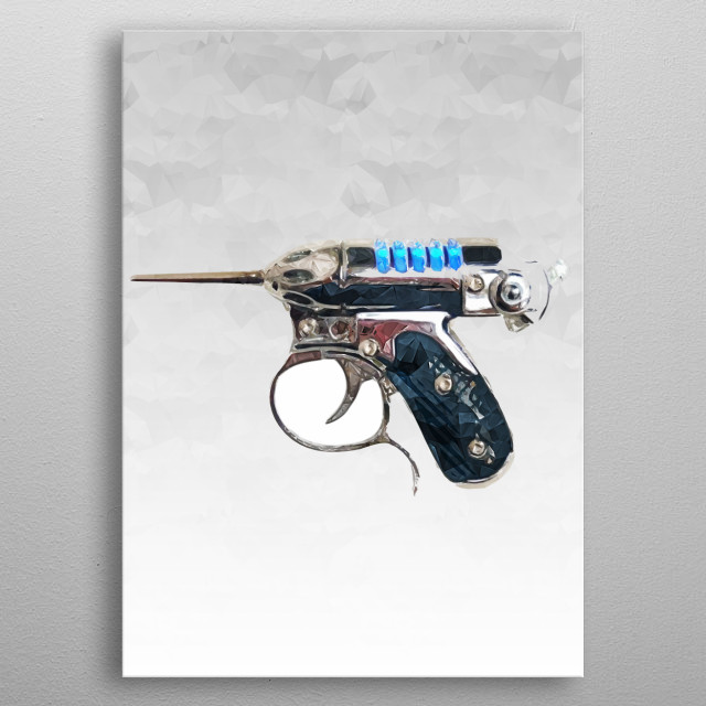 Fascinating metal poster designed by Benjamin Cremer. Displate has a unique signature and hologram on the back to add authenticity to each design. metal poster
