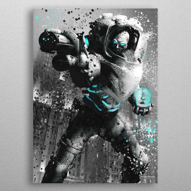 Freeze metal poster