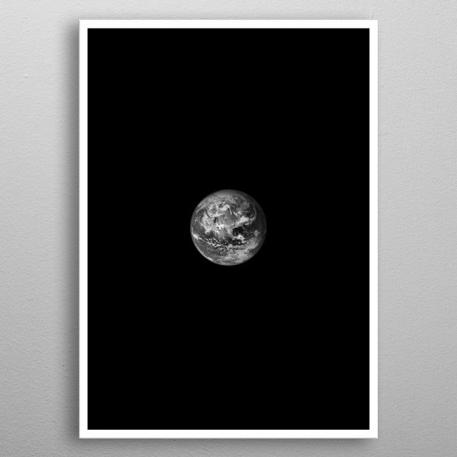 Earth metal poster