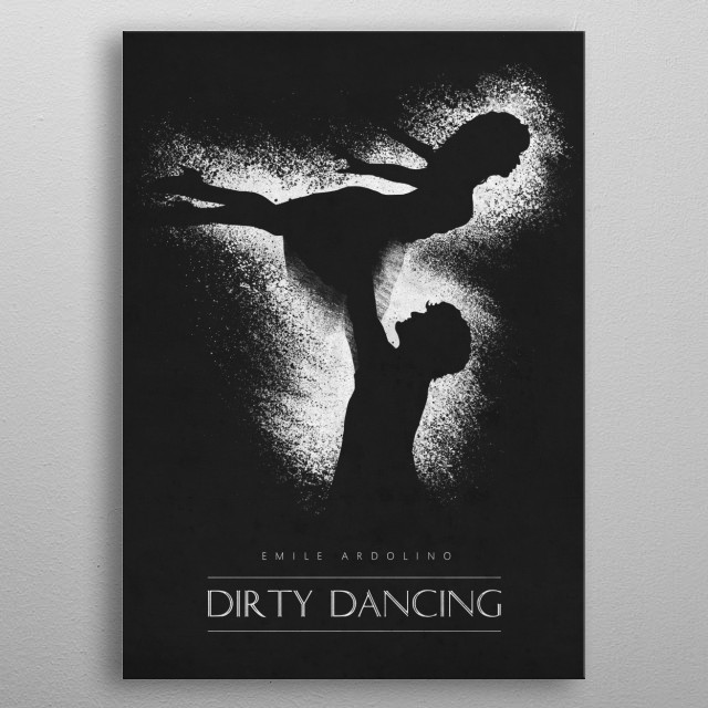 A timeless classic metal poster