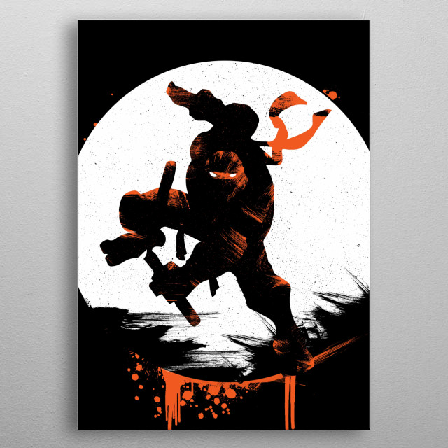 Fascinating metal poster designed by rocket man. Displate has a unique signature and hologram on the back to add authenticity to each design. metal poster