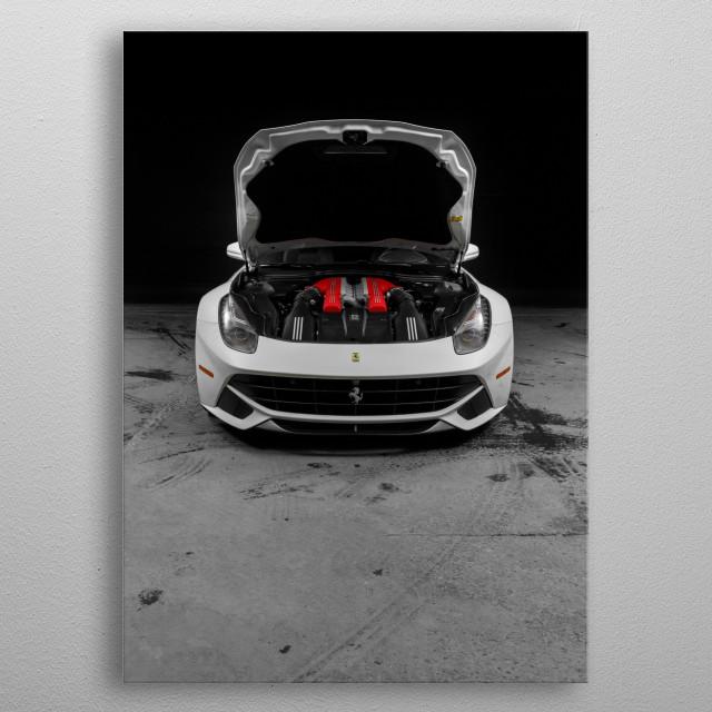 Ferrari F12 Berlinetta metal poster