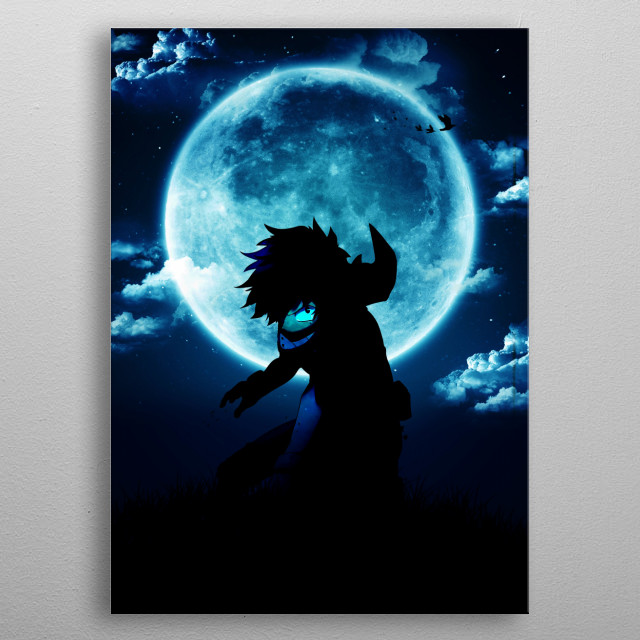 Izuku Midoriya The hero metal poster