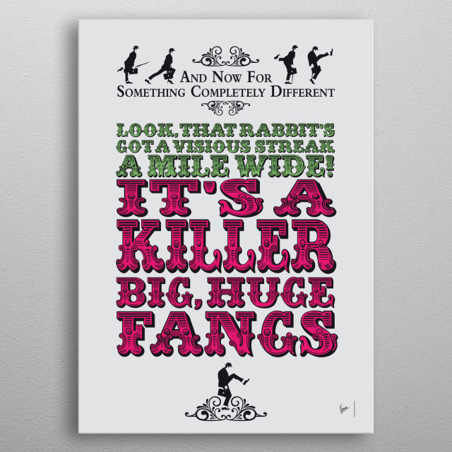 From parrot ruminations to a lumberjack's confessions, this is my pick of the Python's most funny quotes.  metal poster