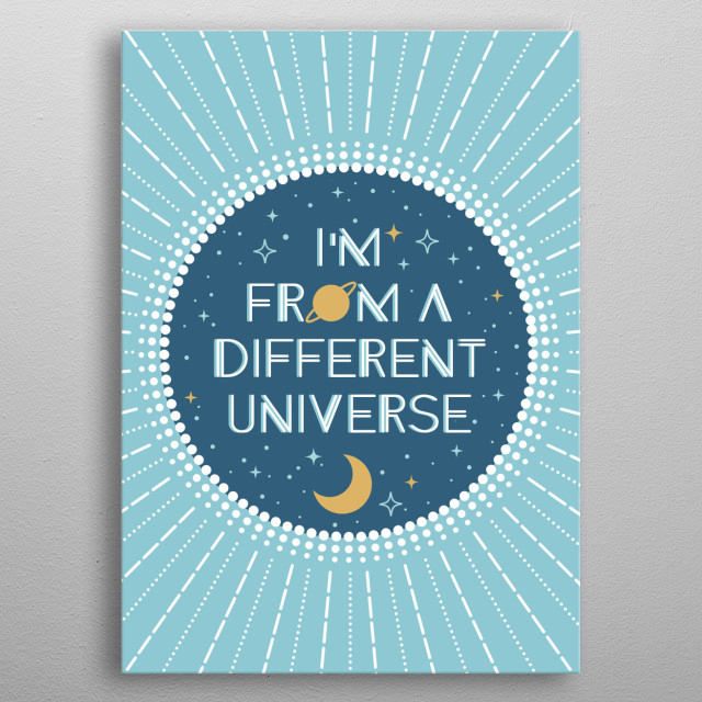 This marvelous metal poster designed by cafelab to add authenticity to your place. Display your passion to the whole world. metal poster