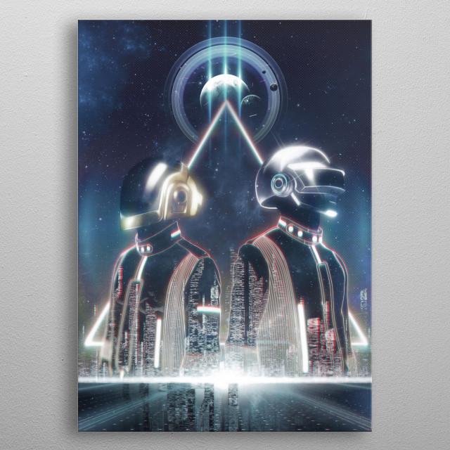 Its a daft Future! metal poster