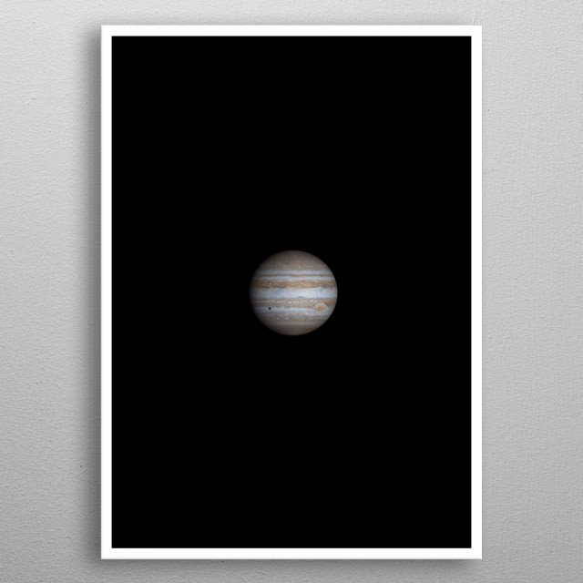 High-quality metal print from amazing Simple Color Solarsystem collection will bring unique style to your space and will show off your personality. metal poster