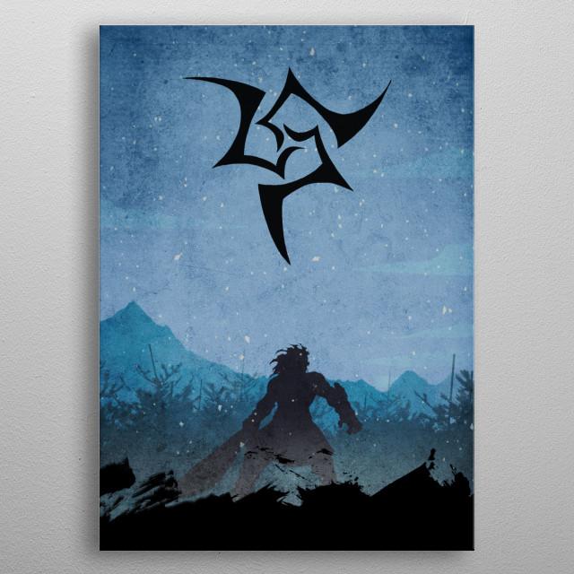 The Berserker - Heracles metal poster