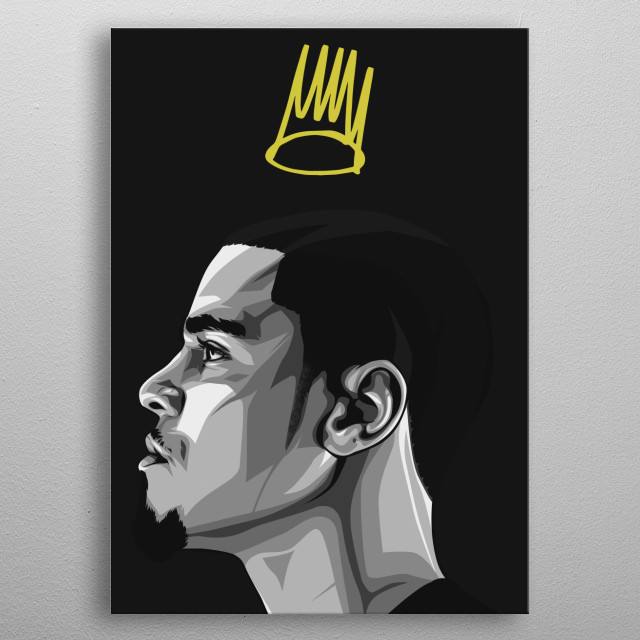 the dreamville metal poster