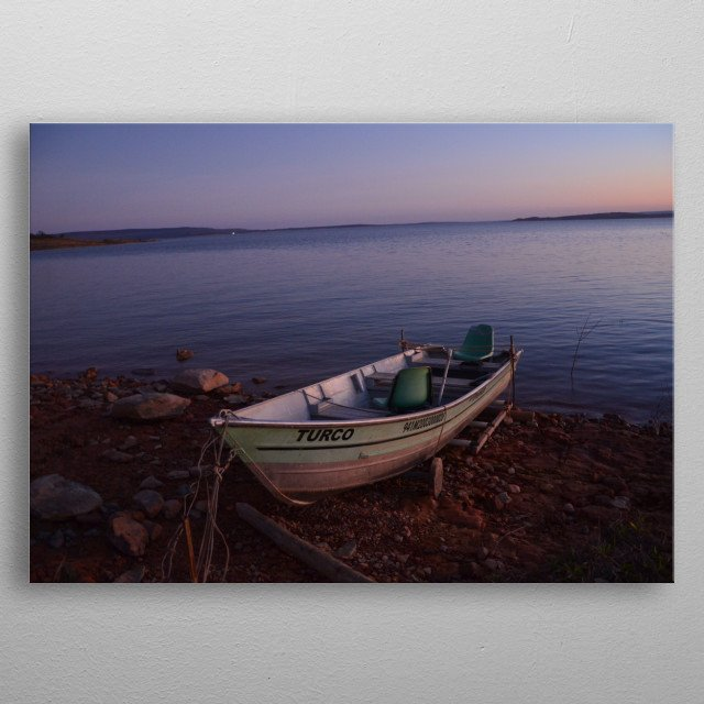 This marvelous metal poster designed by walcesantos to add authenticity to your place. Display your passion to the whole world. metal poster