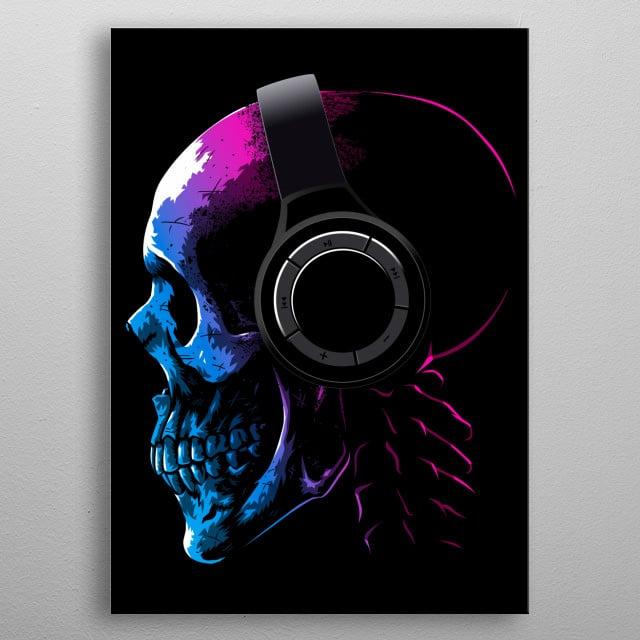 music hardcore metal poster