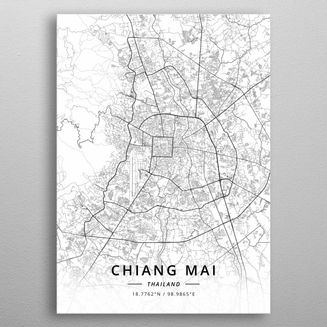 Chiang Mai Thailand Maps Poster Print   metal posters - Displate on provinces of thailand, phuket province, mae taeng thailand map, koh yao noi thailand map, surat thani province, thanyaburi thailand map, nakhon phanom thailand map, koh samui thailand map, koh tao island thailand map, suratthani thailand map, nang rong thailand map, bophut thailand map, chiang rai, krabi province, phuket thailand map, wat phrathat doi suthep, wat pho thailand map, chiang mai zoo, doi inthanon thailand map, wat phra kaew thailand map, doi inthanon, kanchanaburi province thailand map, aranyaprathet thailand map, kanchanaburi province, uthai thani thailand map, northern thailand, doi suthep, thailand train service map, chiang rai province, phang nga province, chennai thailand map, khon kaen province, southern thailand, nan province, mae sai thailand map, grand palace thailand map,