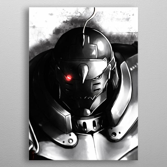 Alphonse metal poster