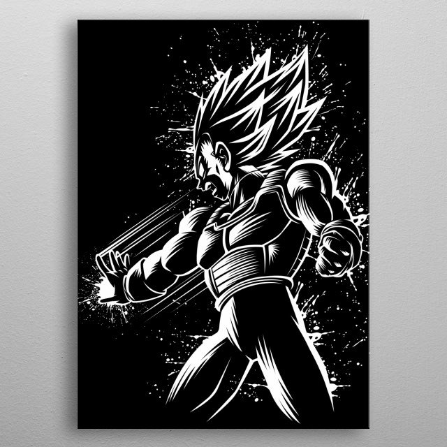 Attack of Prince metal poster