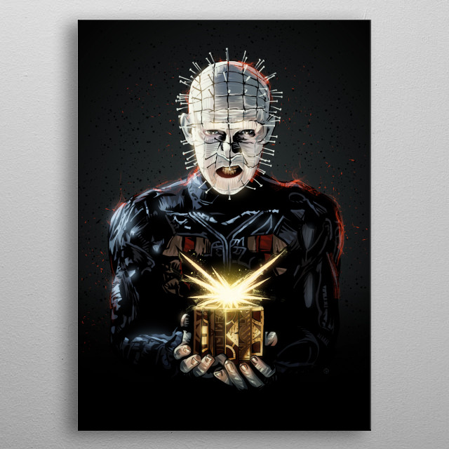 Hellraiser metal poster