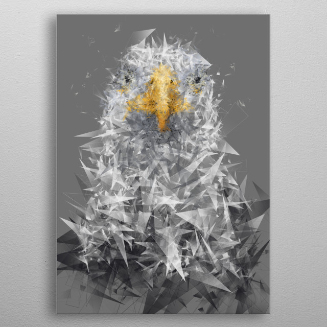 High-quality metal wall art meticulously designed by ELLR would bring extraordinary style to your room. Hang it & enjoy. metal poster