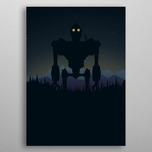 High-quality metal print from amazing Pop Culture Posters collection will bring unique style to your space and will show off your personality. metal poster