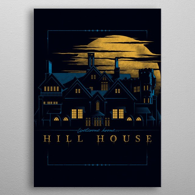 Welcome Home... metal poster