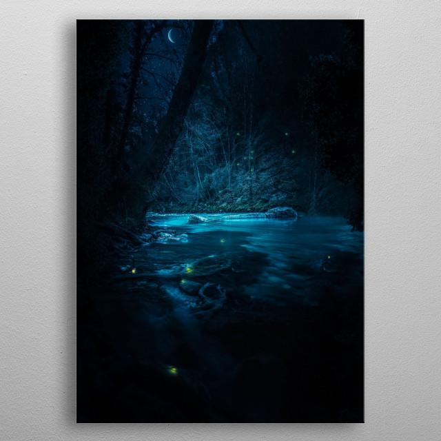 Magical Night.  metal poster
