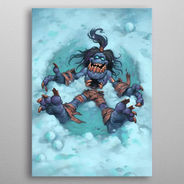 Happy Ghoul metal poster