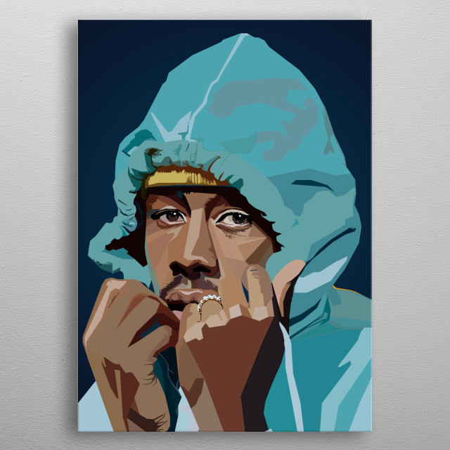 Tyler The Creator WPAP Pop Art metal poster