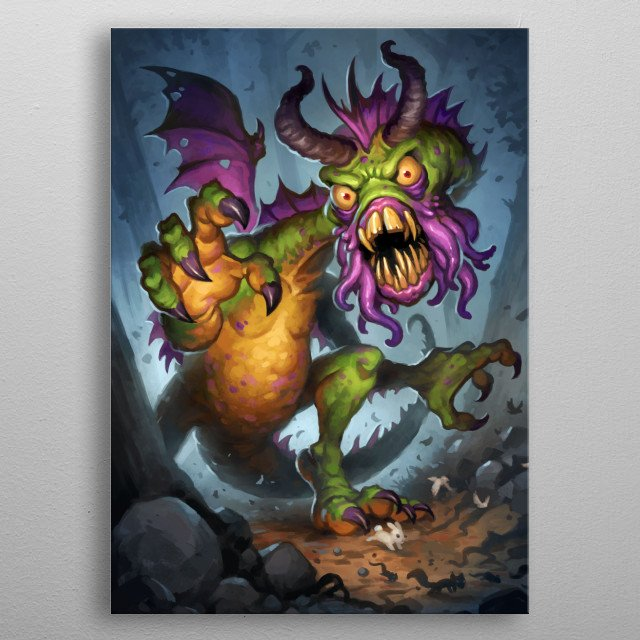 High-quality metal wall art meticulously designed by Blizzard would bring extraordinary style to your room. Hang it & enjoy. metal poster