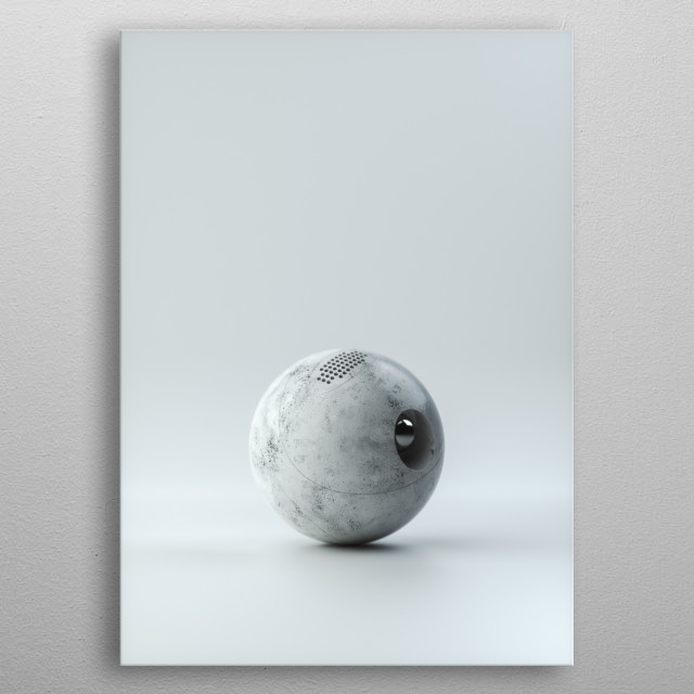 High-quality metal print from amazing 3d Artwork collection will bring unique style to your space and will show off your personality. metal poster