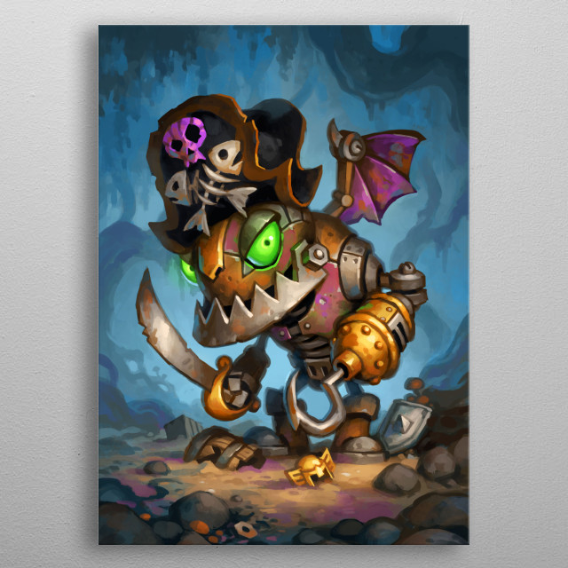 Fascinating  metal poster designed with love by Blizzard. Decorate your space with this design & find daily inspiration in it. metal poster