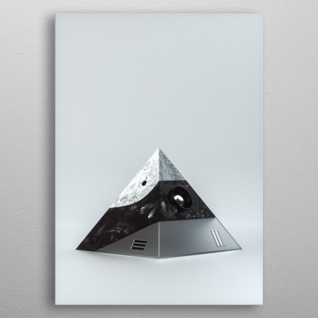 Prism metal poster