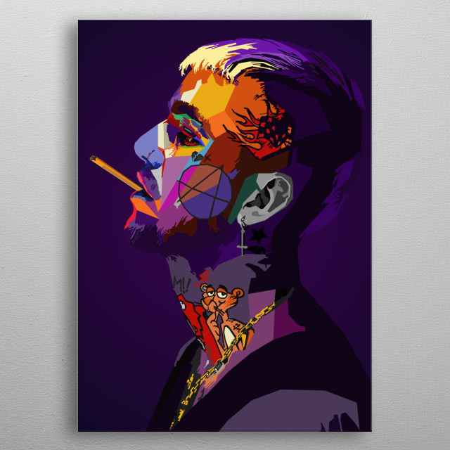 Fascinating metal poster designed by NGUYEN DINH LONG. Displate has a unique signature and hologram on the back to add authenticity to each design. metal poster